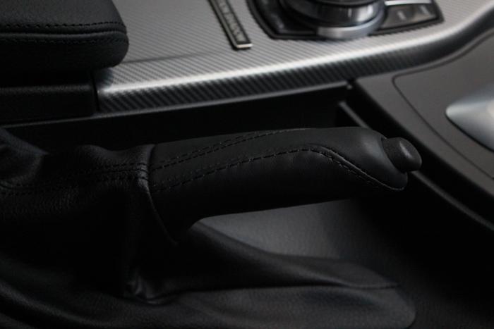 BMW 320d パーキングブレーキグリップ コーティング